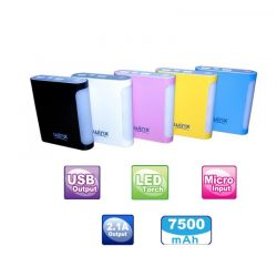 POWER BANK 7500 mAH Winx