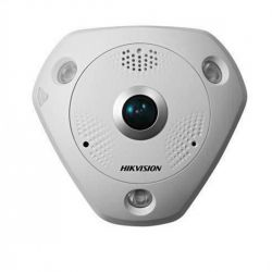 Hikvision Caméra IP Fisheye Anti vandale 12MP