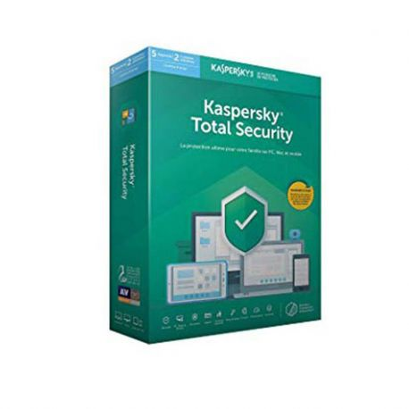 KASPERSKY Tolal Security 2019 (5 Postes)