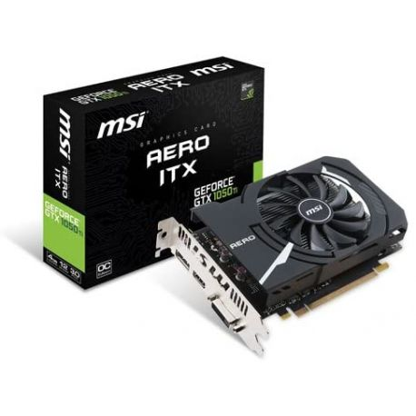 Carte graphique MSI GTX 1050 TI 4GB