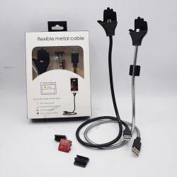 Flexible Metal Data USB Cable